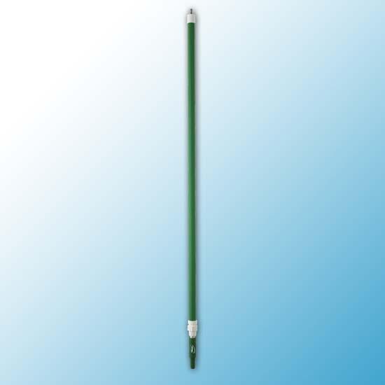 Ручка телескопическая с подачей воды, 1600 - 2780 мм, Ø32 мм, зеленый цвет