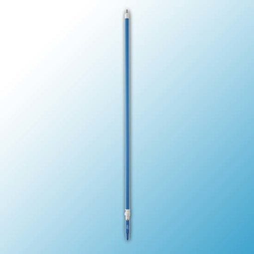 Ручка телескопическая с подачей воды, 1600 - 2780 мм, Ø32 мм, синий цвет