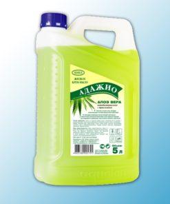 Жидкое крем- мыло Адажио перл. с антибак.эффектом, 5л, Алоэ Вера