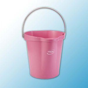 Ведро, 12 л, Розовый