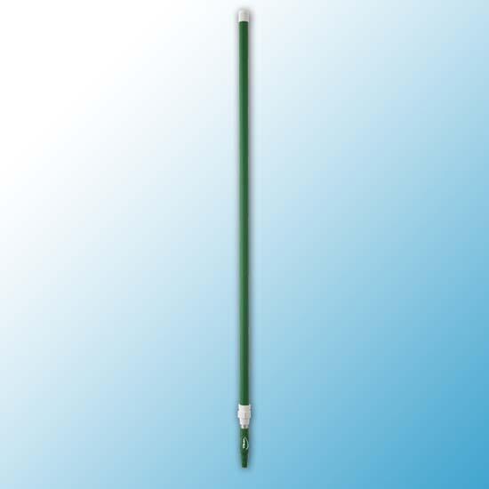 Алюминиевая телескопическая ручка, 1575 - 2780 мм, Ø32 мм, зеленый цвет