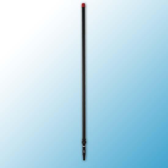 Телескопическая aлюминиевая ручка, 1575 - 2780 мм, Ø32 мм, черный цвет