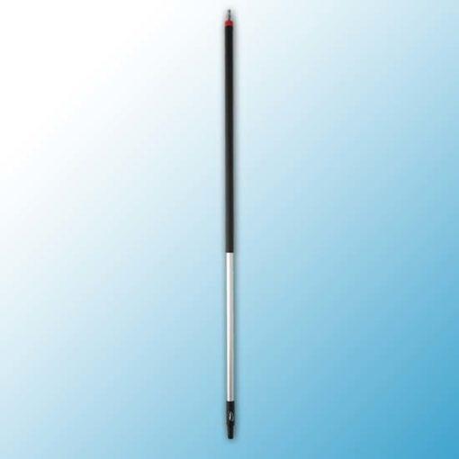 Ручка из алюминия с подачей воды, Ø31 мм, 1565 мм, черный цвет