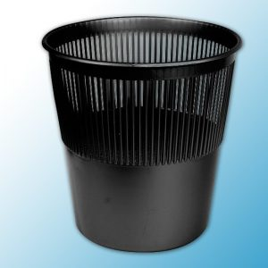 Корзина для бумаги 12л (черная)