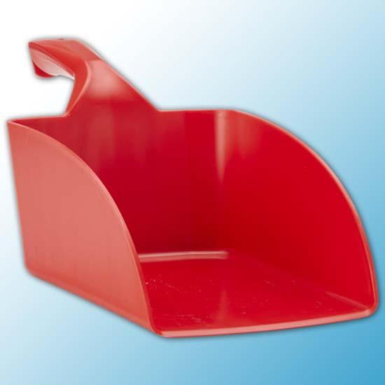Совок ручной большой, 2 л, красный цвет