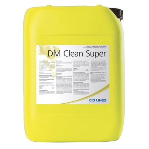 ДМ КЛИН СУПЕР (DM CLEAN SUPER), 25 кг – щелочное беспенное моющее средство
