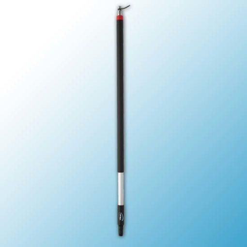 Алюминиевая ручка с подачей воды, Ø31 мм, 1025 мм, черный цвет