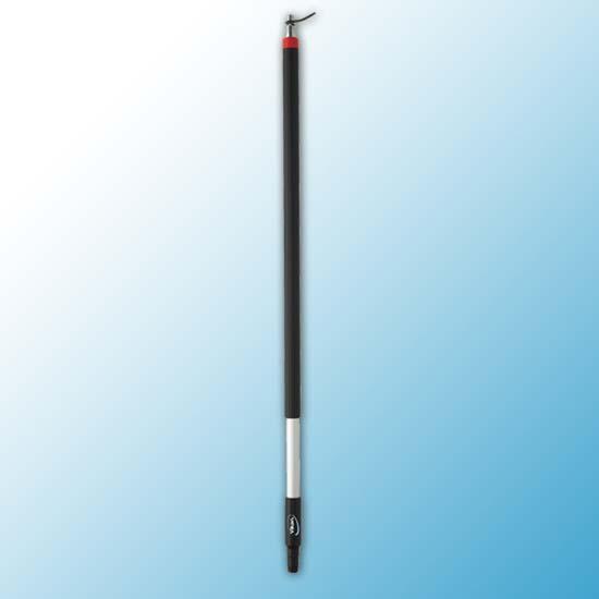 Ручка из алюминия с подачей воды, Ø31 мм, 1010 мм, черный цвет