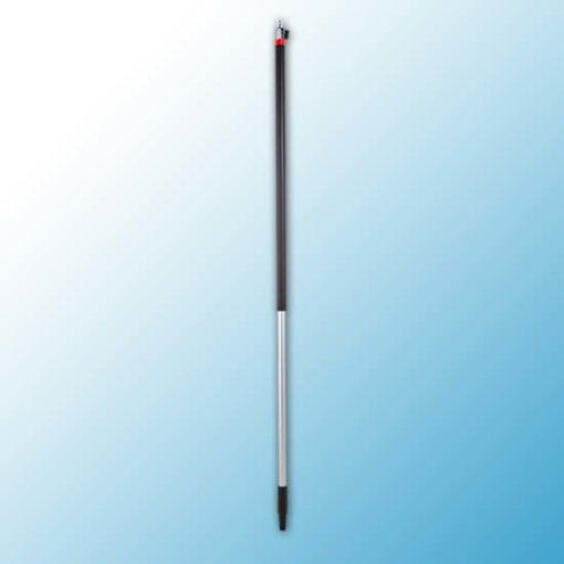 Алюминиевая ручка с подачей воды, Q-соединение + on/off, Ø31 мм, 1575 мм, черный цвет