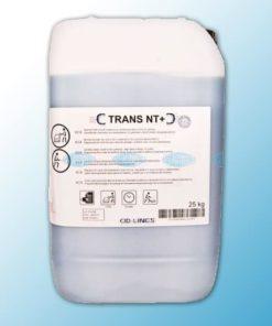 ТРАНС НТ+ - это средство для мойки полов (с использованием поломоечной машины)
