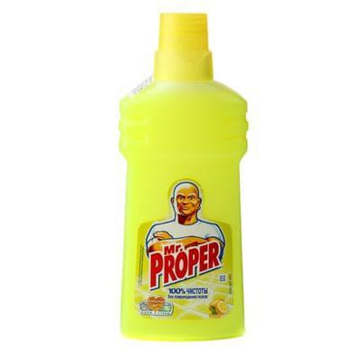 Мистер пропер Моющая жидкость д/уборки Универсал Лимон 500мл