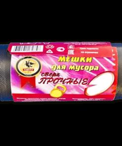 """Мешки для мусора """"Vikont"""", 120л*10шт Сверхпрочные"""