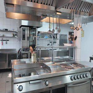 Очистка кухонного тепло и термо оборудования