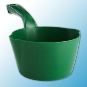 Круглый ковш, 2 л, зеленый цвет