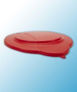 Крышка для ведра, 20 л, красный цвет