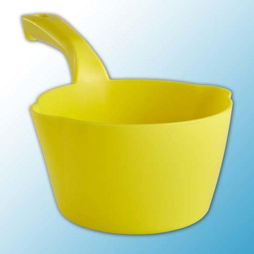 Круглый ковш, 1 л, желтый цвет