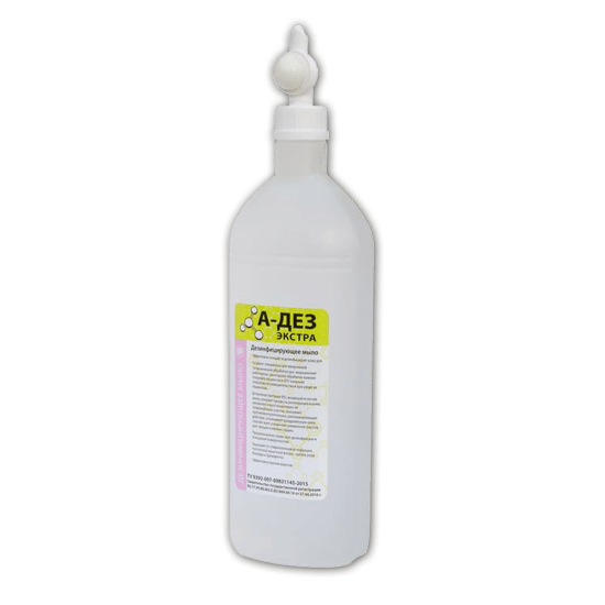 А-ДЕЗ-Антисептик-гель 1л с дозатором насос