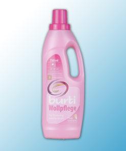 """Жидкое средство для стирки изделий из шеости и щелка """"BURTI Wollpflege"""" 753мл"""