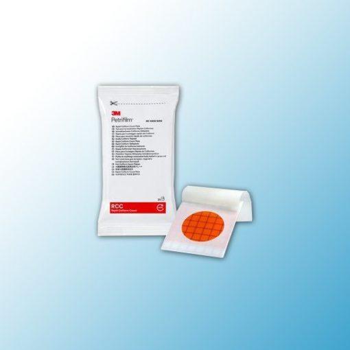 6402 Тест-пластины Petrifilm™ для экспресс-определения колиформных бактерий (RCC), 25шт/пакет, 2 пакета/ящ