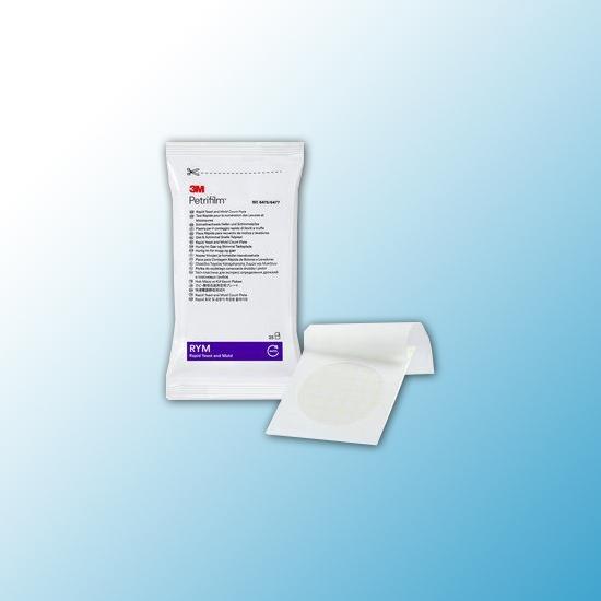 6475 Тест-пластины Petrifilm™ для экспресс-определения дрожжей и плесневых грибов (RYM), 25 шт/пакет, 2 пакета/ящ