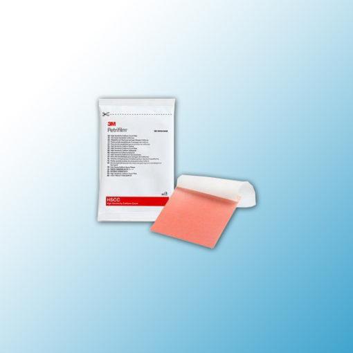 6415 Тест-пластины Petrifilm™ высокочувствительные для определения колиформных бактерий (HSCC), 25 шт/пакет, 2 пакета/уп, 10 уп/ящ