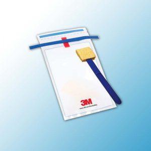 SSL10NB 3M™ Sponge-Stick Губка с Держателем для Отбора Проб с Нейтрализующим Буфером 10 мл пакет, 100 шт/ящ
