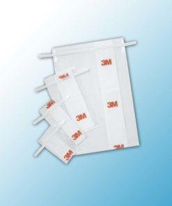BP115S Пакеты 3М™ для Отбора Образцов с Проволочным Механизмом Закрытия, Стерильные, Объем 450 мл, Размер 11,4 х 22,9 см,1000 шт/ящ
