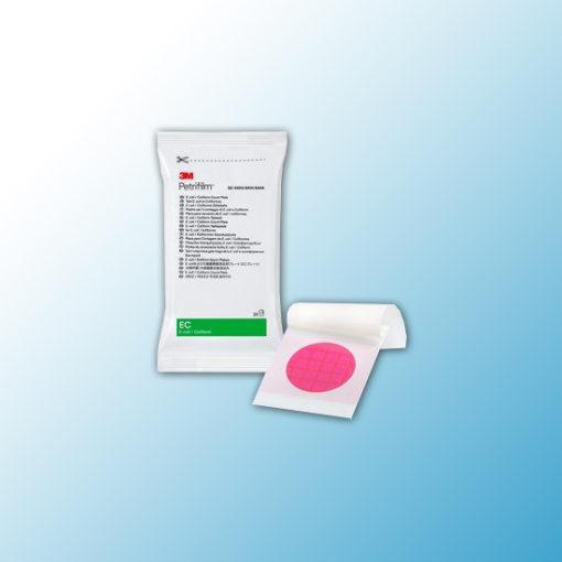 6414 Тест-пластины Petrifilm™ для определения колиформных бактерий и E.coli(EC), 25 шт/пакет, 20 пакетов/ящ